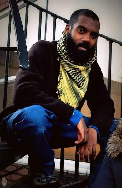 Joshua Virasami: Occupier, writer, rapper
